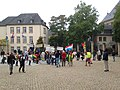 Protest of Togolese in Luxembourg City, October 2017.jpg