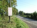 Protest sign at Dunmoe, near Navan, Co. Meath - geograph.org.uk - 995734.jpg