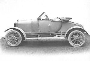 Clyno - Clyno's Prototype Car
