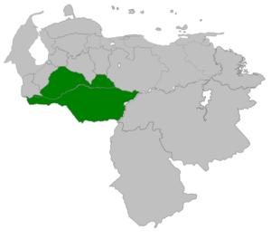 Maracaibo Province (Spanish Empire) - Image: Provincia de Barinas 1786 1830
