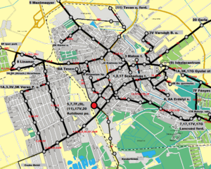 békéscsaba térkép nyomtatható Békéscsaba tömegközlekedése – Wikipédia békéscsaba térkép nyomtatható