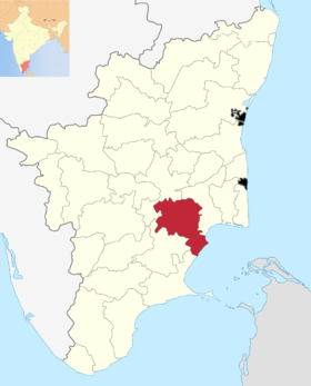 Localisation de District de Pudukkottai