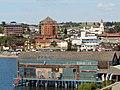 Puerto Varas Vista hacia el lago desde lo alto (h Patagonico) 01.jpg