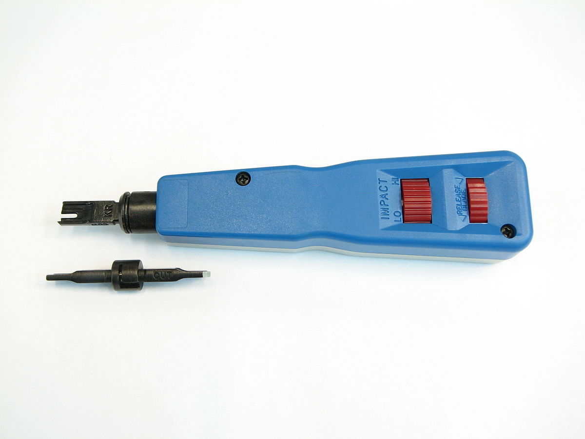 Punch Down Tool Wikipedia Cat 5e Jack Wiring