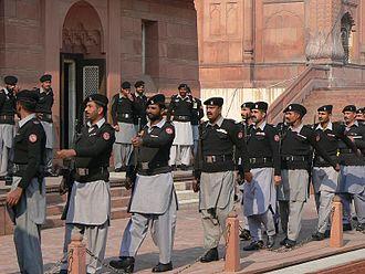 Pakistan Rangers - Pakistan Rangers Punjab marching