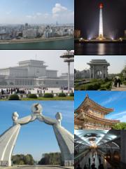 Pyongyang montage