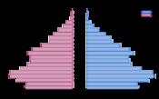 Възрастова структура (2005)