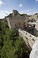 Qal'at Salah ed-Din aka Sahyun Castle view west from south wall 4109.jpg