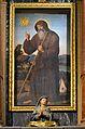 Quadre de sant Francesc de Paula, atribuït a Vicent Macip, església de sant Sebastià de València.JPG
