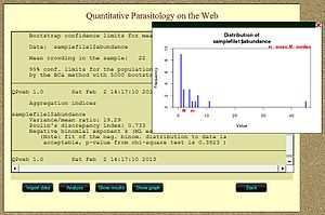 Quantitative parasitology - Image: Quantitative Parasitology on the Web 10