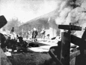 Battle for Jerusalem - Arabs attack the commercial center 2.12.1947