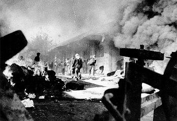 Quartier commercial juif attaqué - 2 décembre 1947