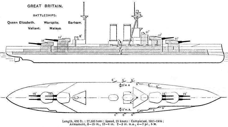 october 16 focus hms queen elizabeth battleship era. Black Bedroom Furniture Sets. Home Design Ideas