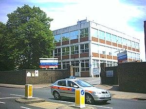 Queen Mary's Hospital - Queen Mary's Hospital in 2005