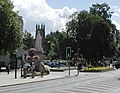 Queen Victoria and the Parish Church, Royal Leamington Spa - geograph.org.uk - 23095.jpg