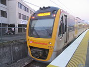 Queensland Rail Interurban Multiple Unit 173 at Beenleigh for Gold Coast