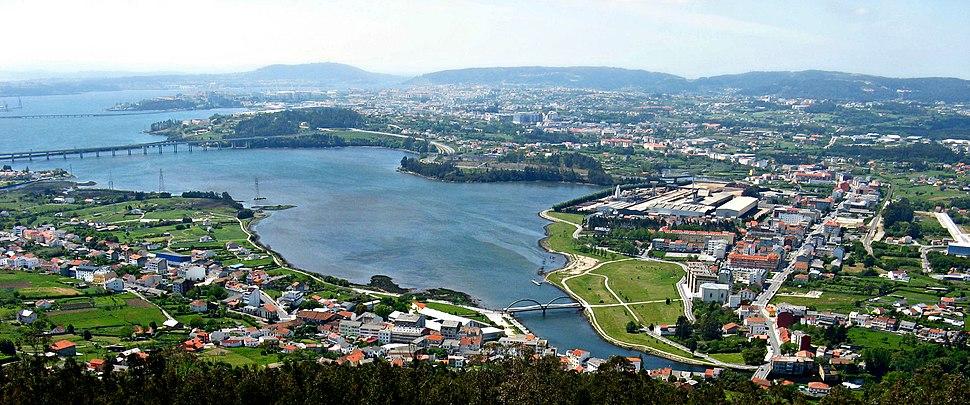 Ría de Ferrol desde el Monte de Ancos - panoramio