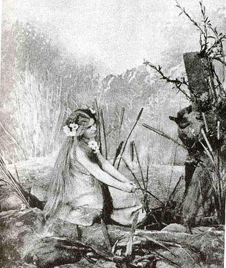 Rusalka (opera) - Růžena Maturová as the first Rusalka