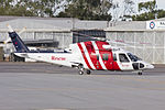 RAAF (VH-LHN) Sikorsky S-76A, operated by CHC Helicopter taxiing at Wagga Wagga Airport.jpg