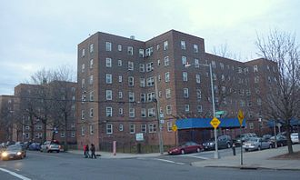 Red Hook, Brooklyn - NYCHA Housing Development