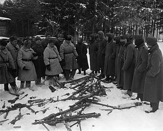 Battle of Moscow - Regiment of Armaments surrender