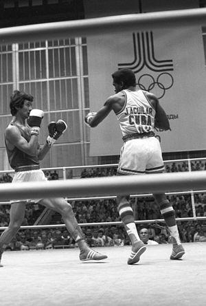 José Aguilar (boxer) - Serik Konakbayev and Jose Aguilar (1980)