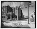 RICHMOND STREET ENTRANCE AND NORTH FACADE - Thirteenth Avenue School, 131 Thirteenth Avenue, Newark, Essex County, NJ HABS NJ-1246-2.tif