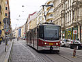 RTT Letná, Strossmayerovo náměstí, KTN sjíždí.jpg
