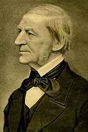 Ralph Waldo Emerson was born in Boston and spent most of his literary career in Concord, Massachusetts.
