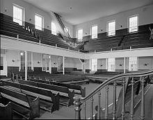 Race Street Friends-Versammlungshaus, Race Street westlich der Fifteenth Street, Philadelphia, Philadelphia County, PA HABS PA-6687-13.jpg