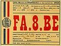 Radioamateurisme - Carte QSL de FA.8.BE (Algérie) (2).jpg