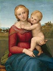Raphael: Small Cowper Madonna