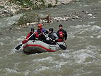 Rafting on the Belá river.JPG