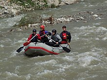 77d25ebe5 Rafting on the Belá River (June 2010)