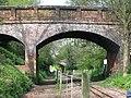 Railway Bridges No 1297 and 1298 - geograph.org.uk - 1279173.jpg