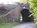 Railway bridge in Crown Lane near Nately Scures - geograph.org.uk - 70581.jpg