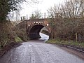 Railway bridge near West Dean - geograph.org.uk - 349490.jpg
