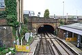 Railway tunnel, northern end of Maidstone West Station - geograph.org.uk - 1264717.jpg