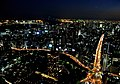 Rainbow Bridge from Tokyo Tower - panoramio.jpg