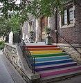 Rainbow flag steps (29477246217).jpg