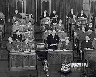 James Ralston - Ralston speaking in the House of Commons.