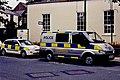 Ramsey - Parliament Street - Police car and van - geograph.org.uk - 1708962.jpg