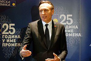 Ranko Krivokapić - Image: Ranko Krivokapic 2015 (2)