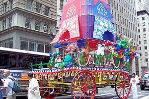 Ratha-Yatra - Rath Yatra Festival in New York