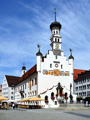 Kempten - City Hall and Market Square