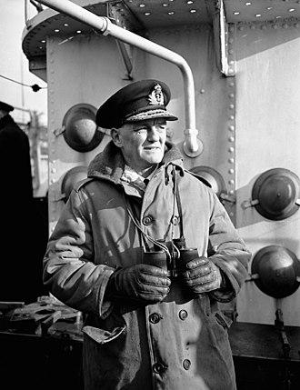 Commander of the Royal Canadian Navy - Image: Rear Admiral G.C. Jones