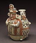 Recuay - Effigy Bottle - Walters 20092037 - Three Quarter Back.jpg