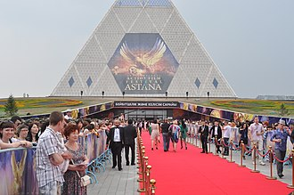 International Astana Action Film Festival, 2010 Red Carpet at AIAFF.jpg