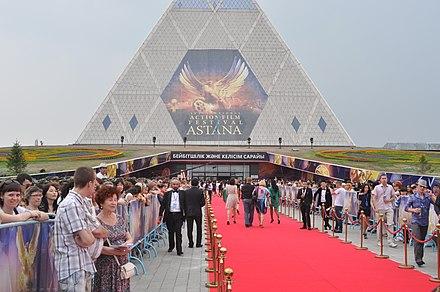 International Astana Action Film Festival, 2010. Red Carpet at AIAFF.jpg