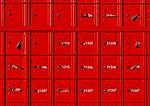 Red postal boxes, Christchurch, New Zealand.jpg